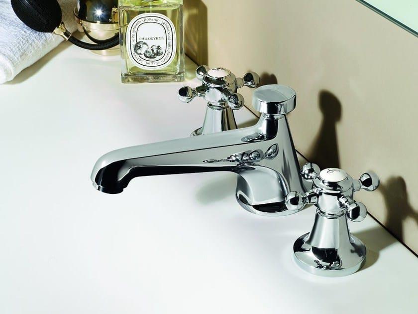 3 hole countertop washbasin tap AGORÀ | 3 hole washbasin tap by ZUCCHETTI
