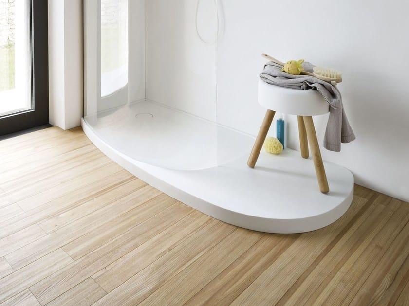 Design Corian® shower tray FONTE   Shower tray by Rexa Design