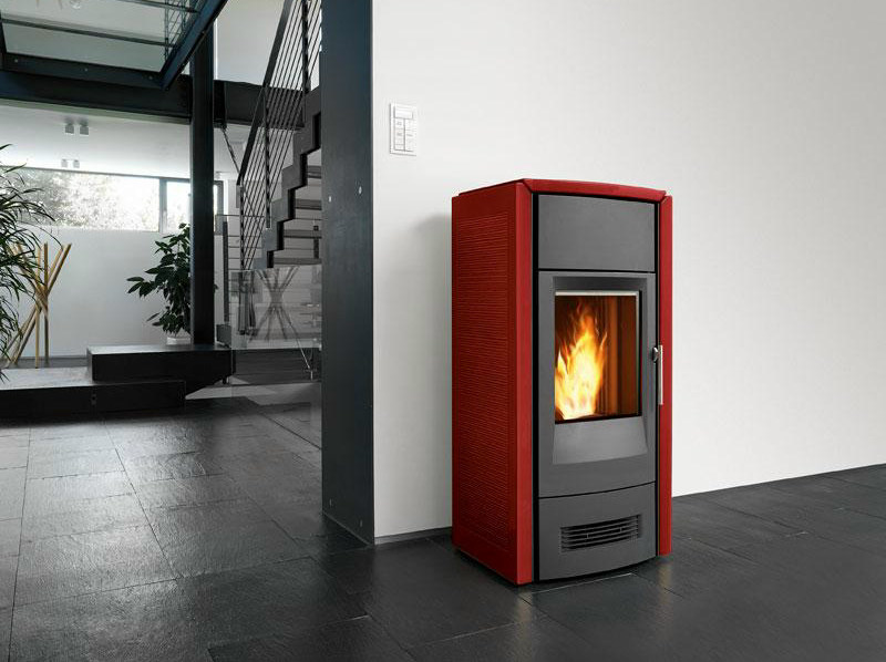 Pellet Heating stove P963 D THERMO | Heating stove by Piazzetta