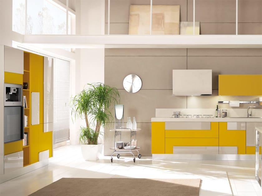 Cucina componibile laccata senza maniglie CREATIVA | Cucina - Cucine ...