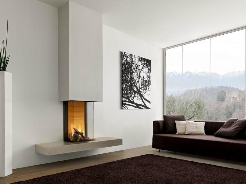 Faïence Fireplace Mantel NOTTINGHAM by Piazzetta