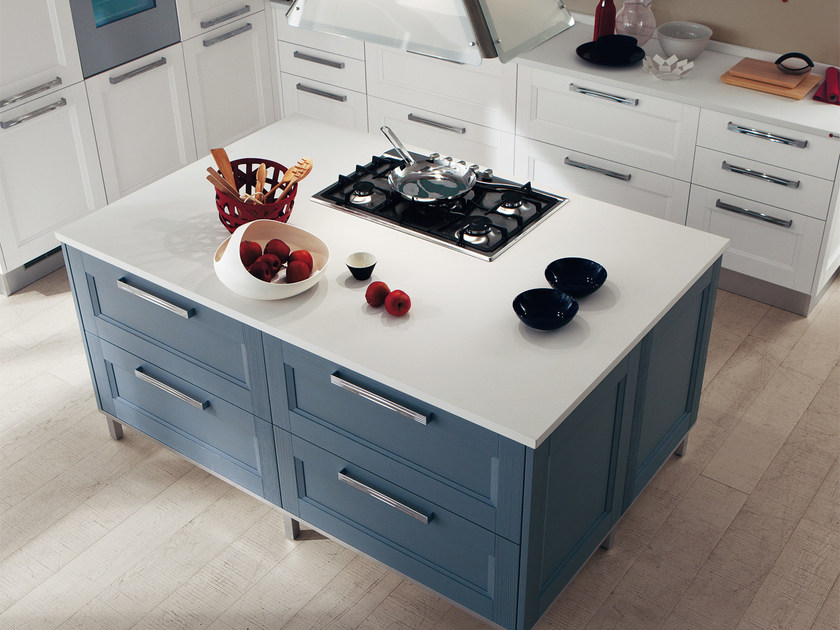 GEORGIA   Kitchen with island By Cucine Lube