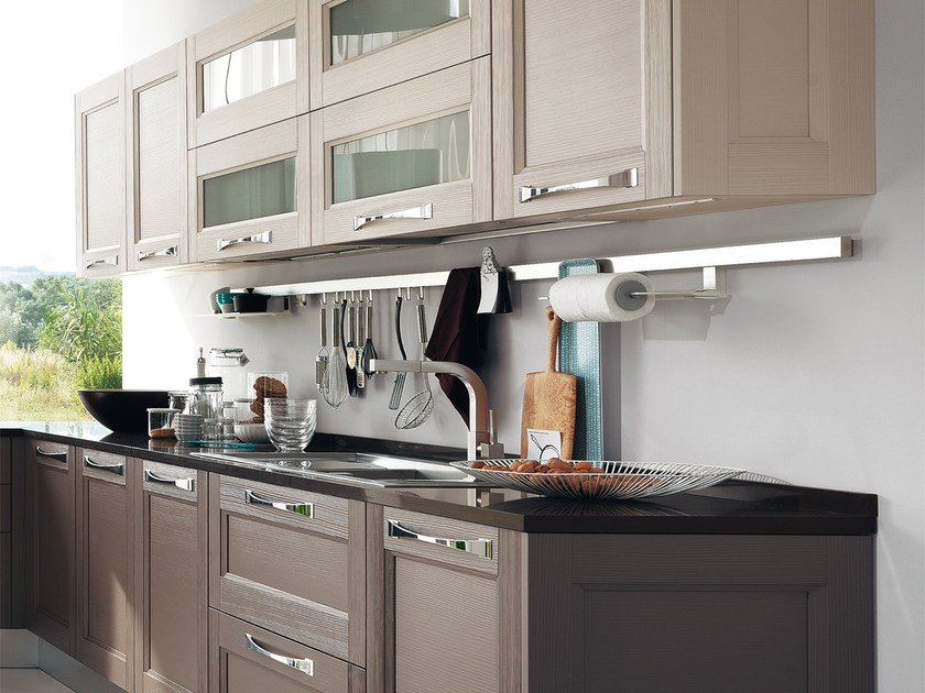 GEORGIA | Kitchen with handles By Cucine Lube