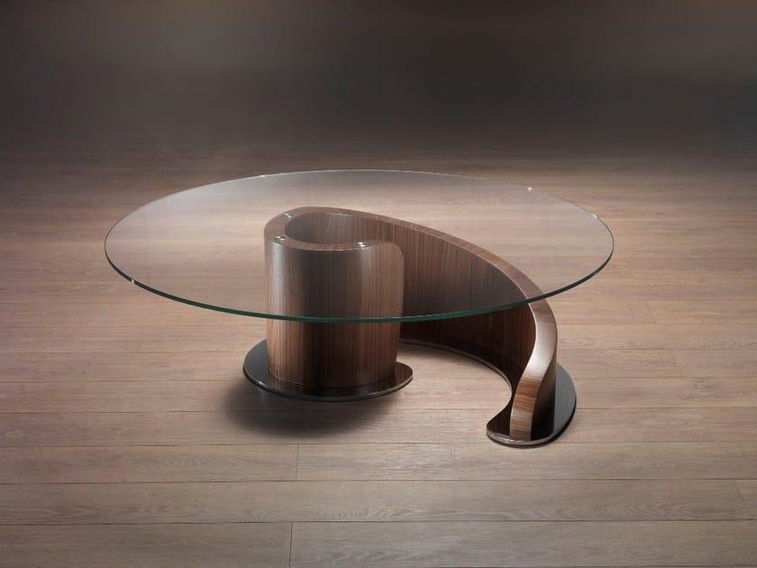 Tavolino Basso Rotondo Legno.Minerva Tavolino Da Salotto