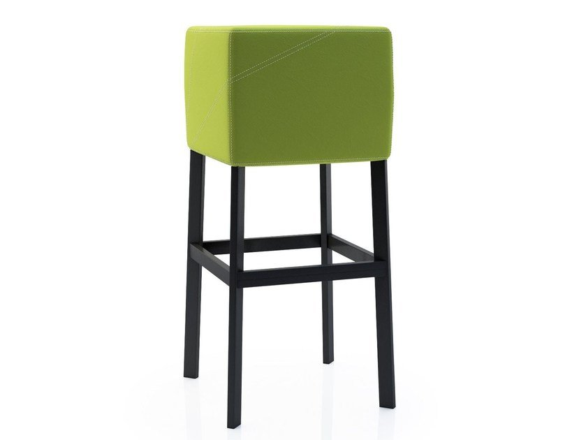 Design upholstered stool CUBE 3.0 by ALMA DESIGN