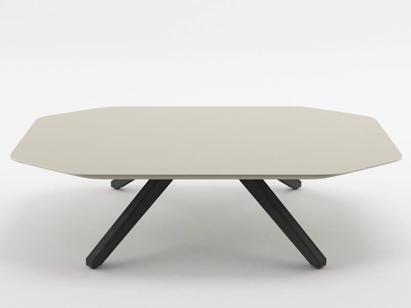 Low MDF coffee table X TABLE | MDF coffee table by ALMA DESIGN