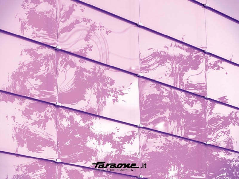 Point-fixed glass facade VETRISSIMO T by FARAONE