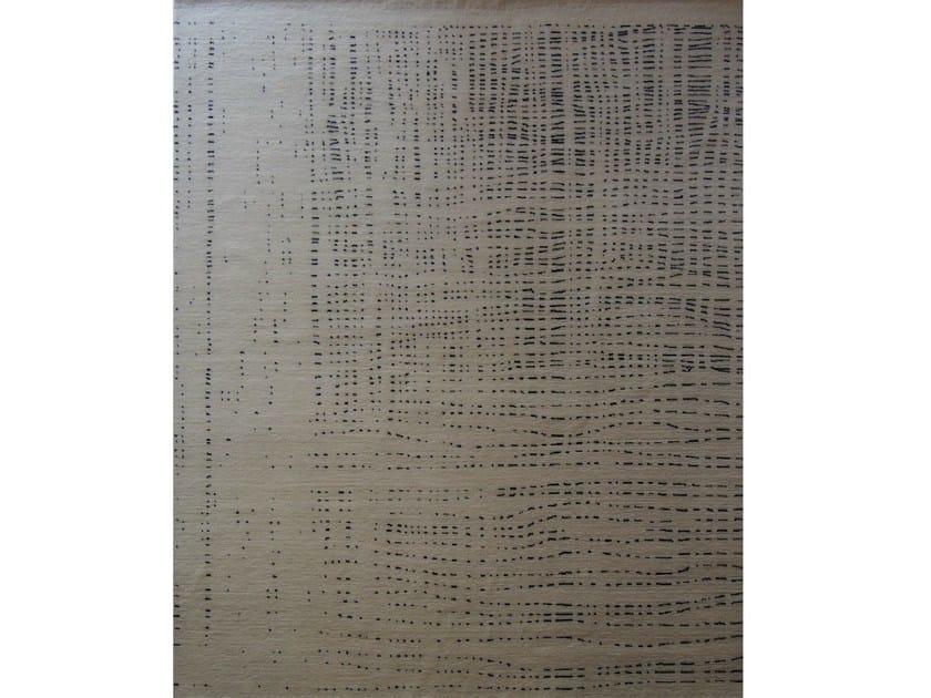 Handmade rectangular wool rug WIRED by Living Divani