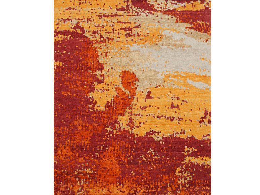 Handmade rectangular wool rug SIN TITULO 28 by Living Divani