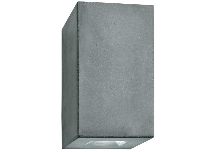 LED cement wall light BRIQUE V by LUCIFERO'S