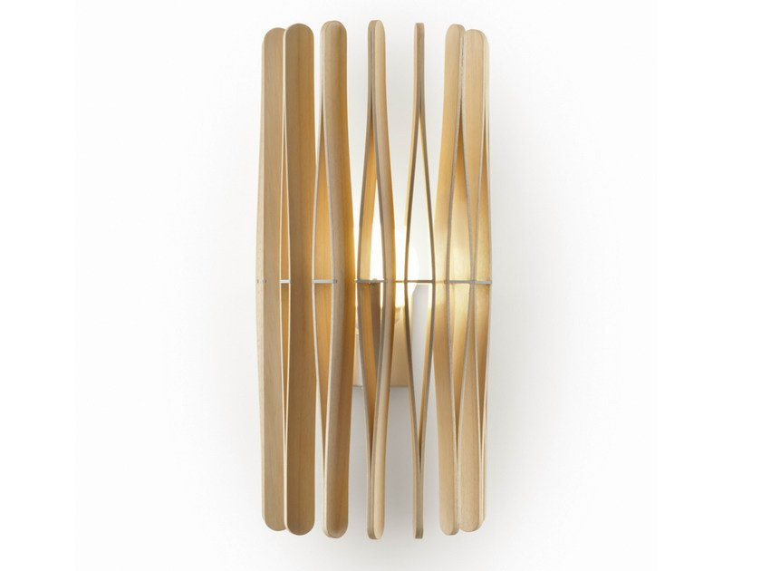 Stick wall light by fabbian design matali crasset wooden wall light stick wall light by fabbian mozeypictures Images