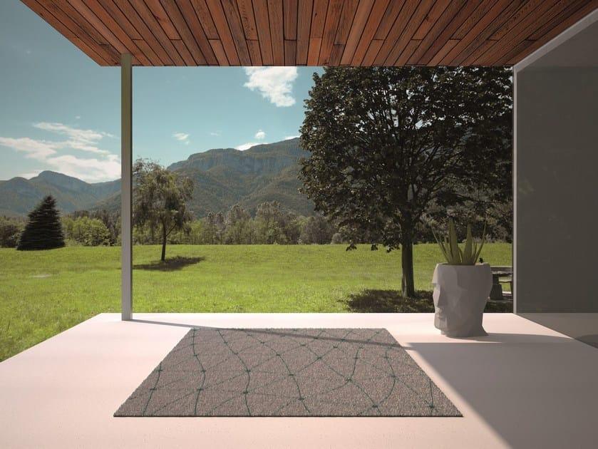 Patterned Rectangular outdoor rug KOI by VONDOM