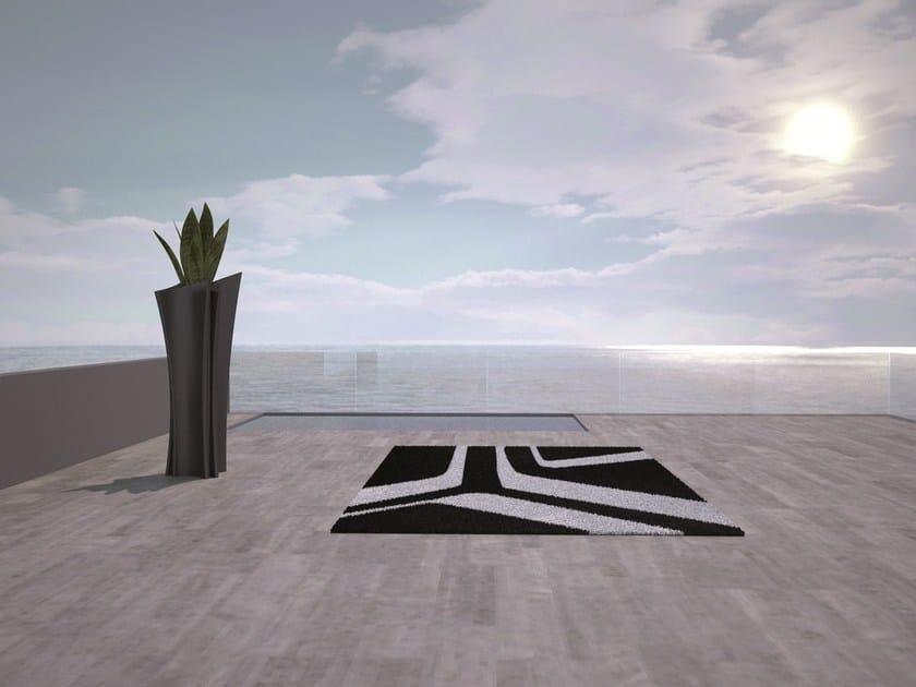 Patterned Rectangular outdoor rug MOONBEAM by VONDOM
