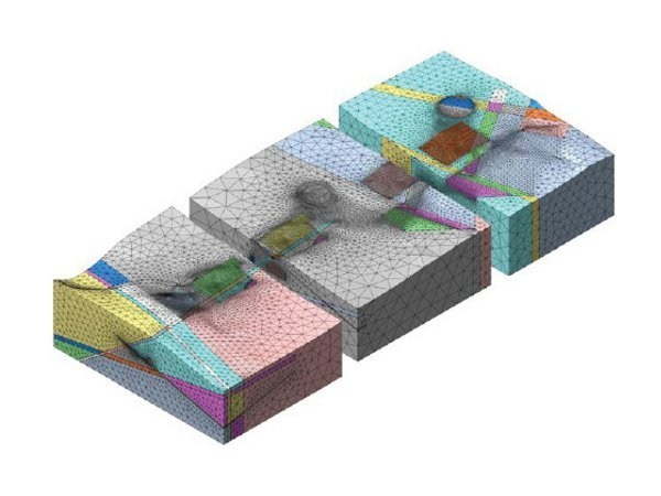 Finite element (FEM) structural resolver DIANA | Finite element (FEM) structural resolver by CSPFea