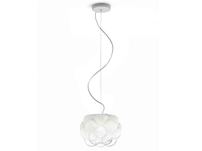 Glass pendant lamp CLOUDY | Pendant lamp by Fabbian
