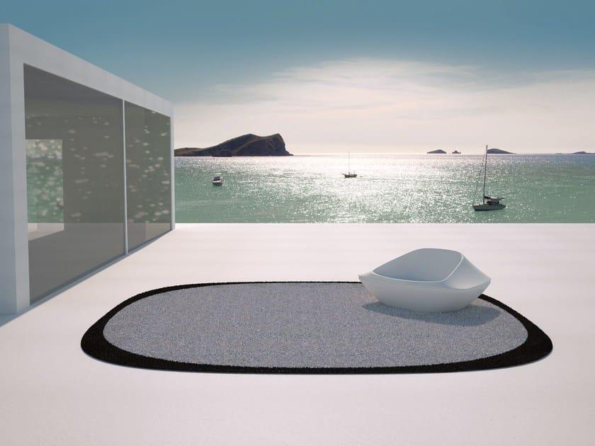 Round outdoor rug UFO | Outdoor rug by VONDOM