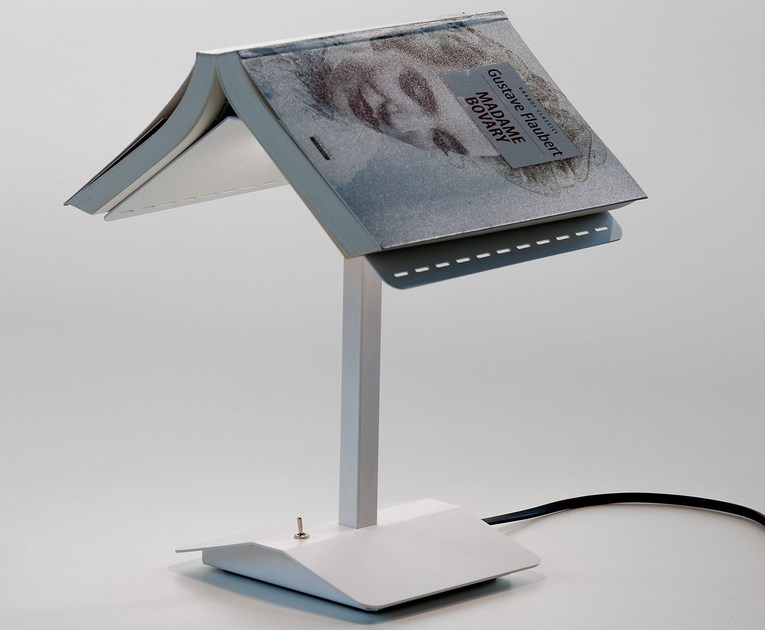 LED metal table lamp SEGNALIBRO by Martinelli Luce