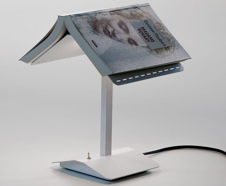 A Lampada Tavolo Led Luce Segnalibro Da Metallo Martinelli In lK1cTFJ