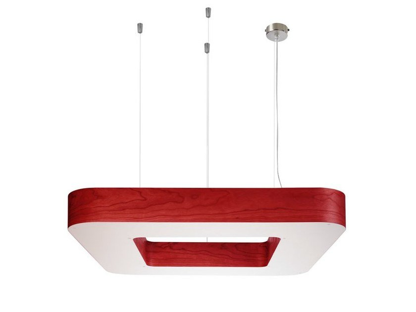 Polywood® pendant lamp CUAD S by LZF