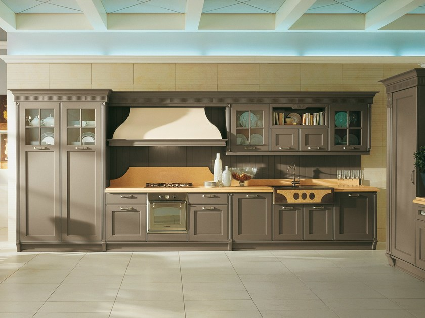Kitchen with handles OPERA | Kitchen by Aster Cucine S.p.A.
