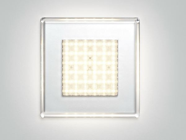 Polycarbonate wall lamp / ceiling lamp QUADRILED   Ceiling lamp by Fabbian