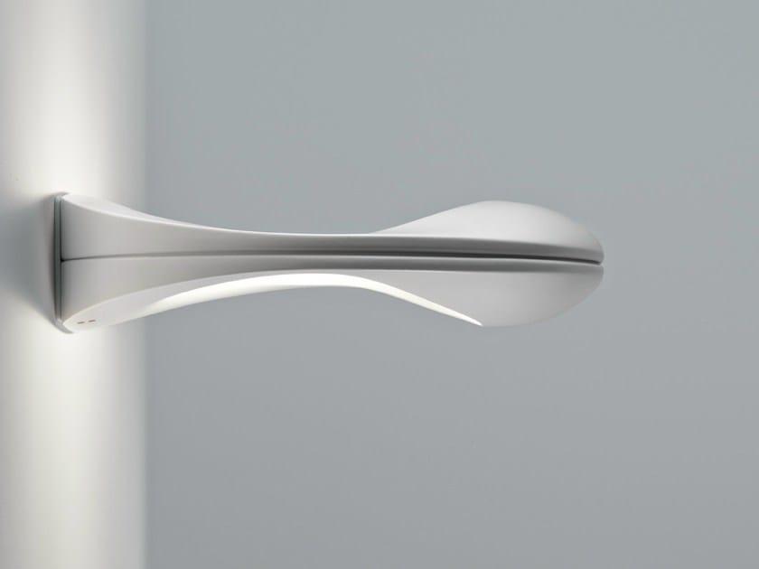 Aluminium wall light ENCK | Wall light by Fabbian