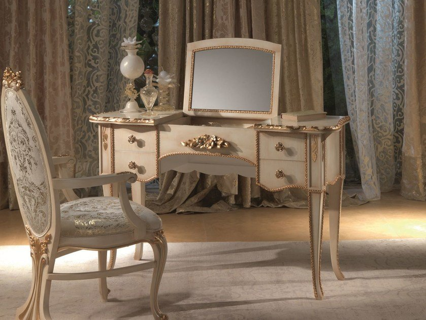 Wooden dressing table VANITY | Dressing table by Carpanelli Classic