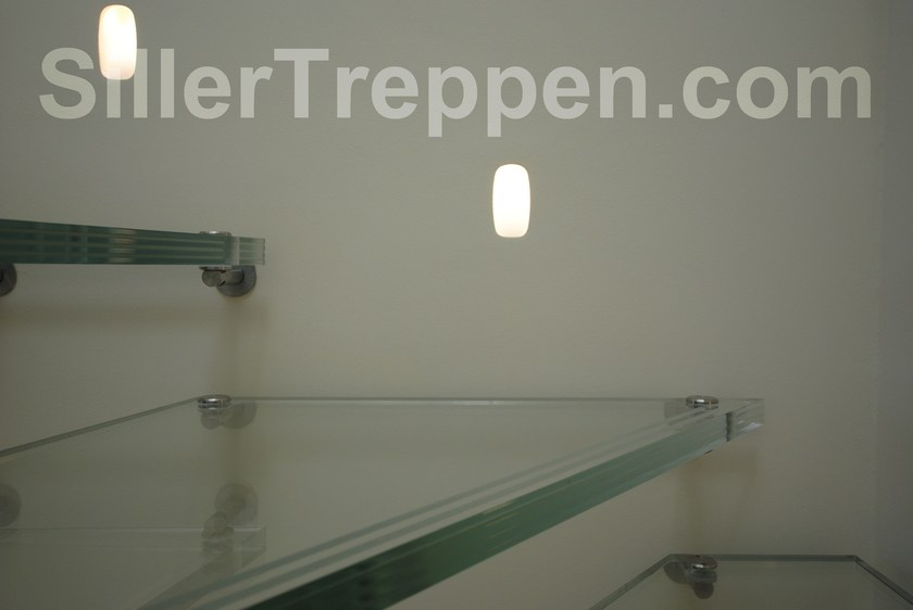 ALL GLASS | Scala a giorno in vetro glass treads with antislip