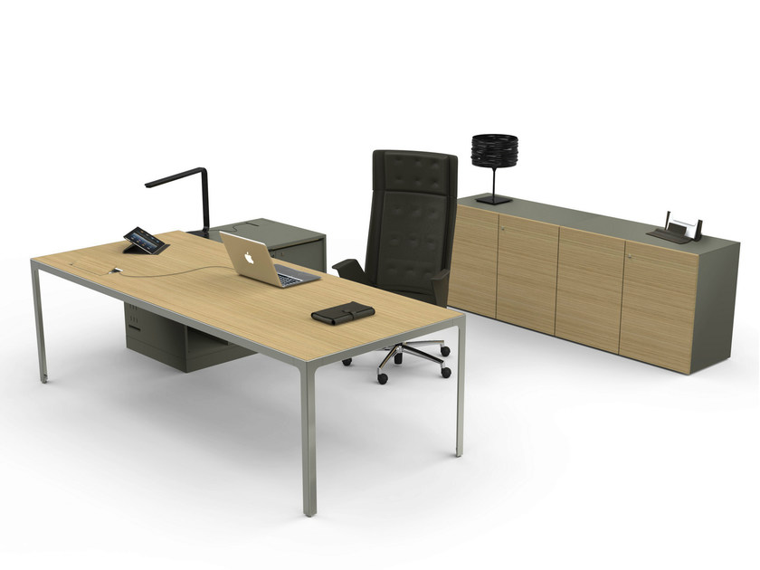 Sectional executive desk MORE 45 | Executive desk by ESTEL GROUP