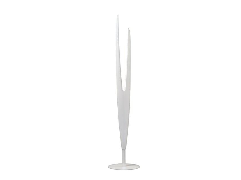 LED aluminium floor lamp MILLELUMEN SCULPTURE | Floor lamp by millelumen