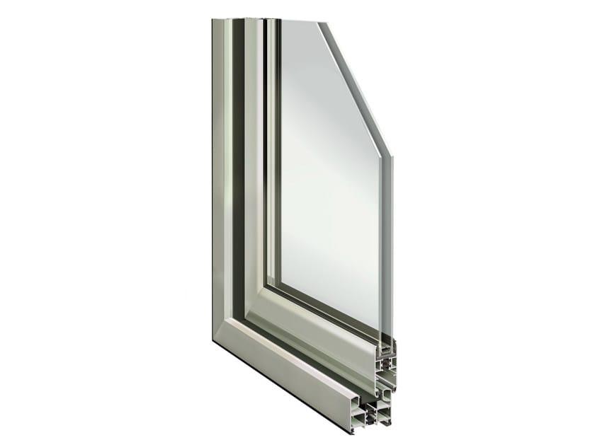 Aluminium thermal break window SLIDE 65 by ALsistem