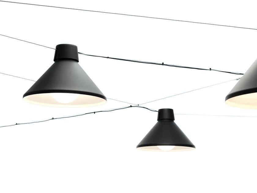 Cable-mounted aluminium pendant lamp DAIKANYAMA | Cable-mounted pendant lamp by ZERO