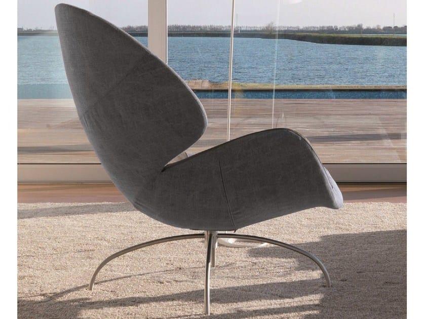 Fabric armchair CLOÉ by Désirée divani