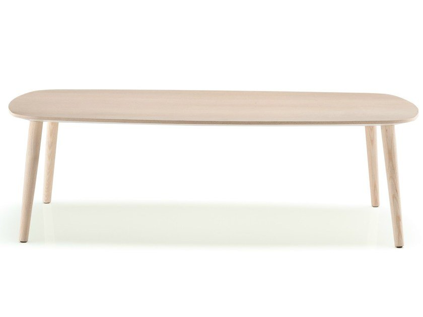Low wooden MALMO | Tavolo basso by PEDRALI