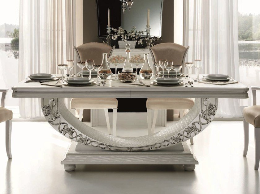 Classic style rectangular dining table MIRÒ   Table by Arredoclassic