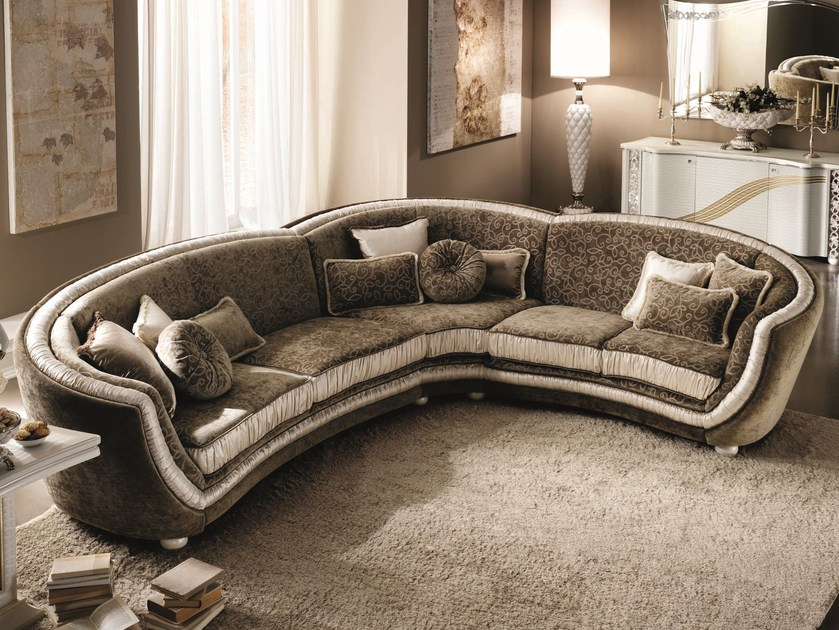 Classic style corner sofa MIRÒ   Corner sofa by Arredoclassic