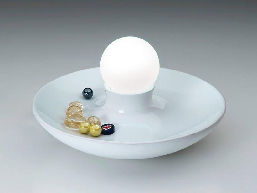 Table lamp / pin tray BOLETO NIGHT by ILIDE
