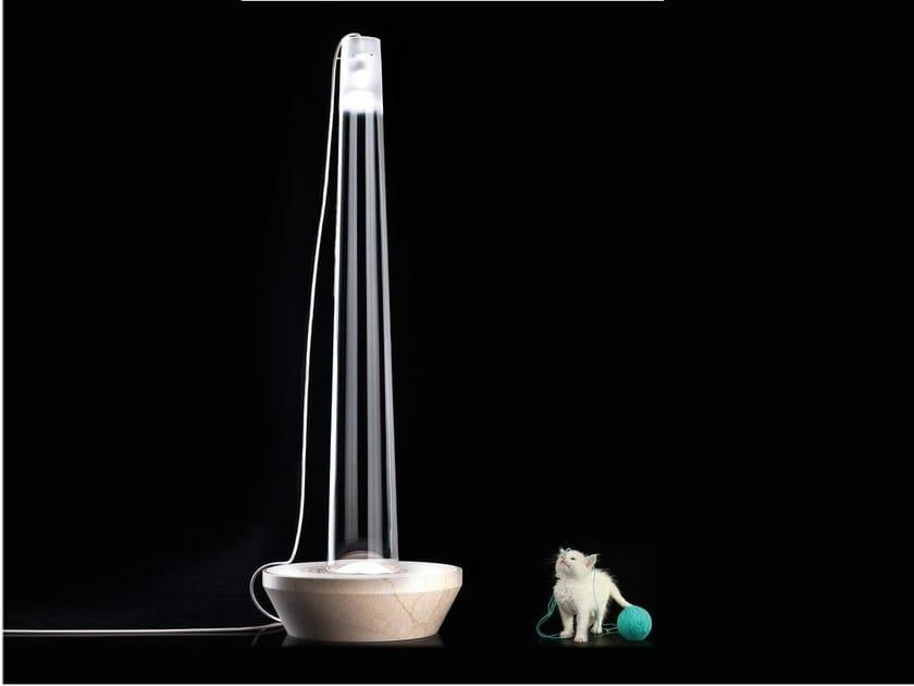Murano glass floor lamp GENOVA by ILIDE