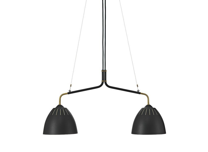 Metal pendant lamp LEAN   Pendant lamp by Örsjö Belysning