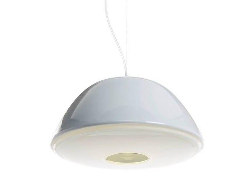 Blown glass pendant lamp AURORA by ILIDE