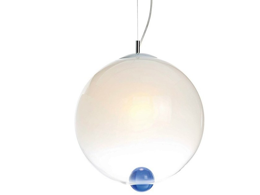 Blown glass pendant lamp BUBBLE | Pendant lamp by ILIDE