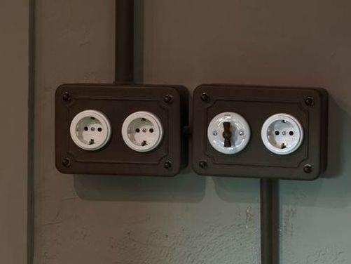 srie plaques et interrupteurs by fontini group - Interrupteur Style Industriel