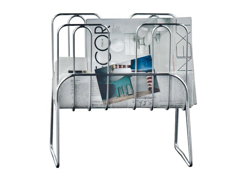 Steel magazine rack PRESS by REXITE