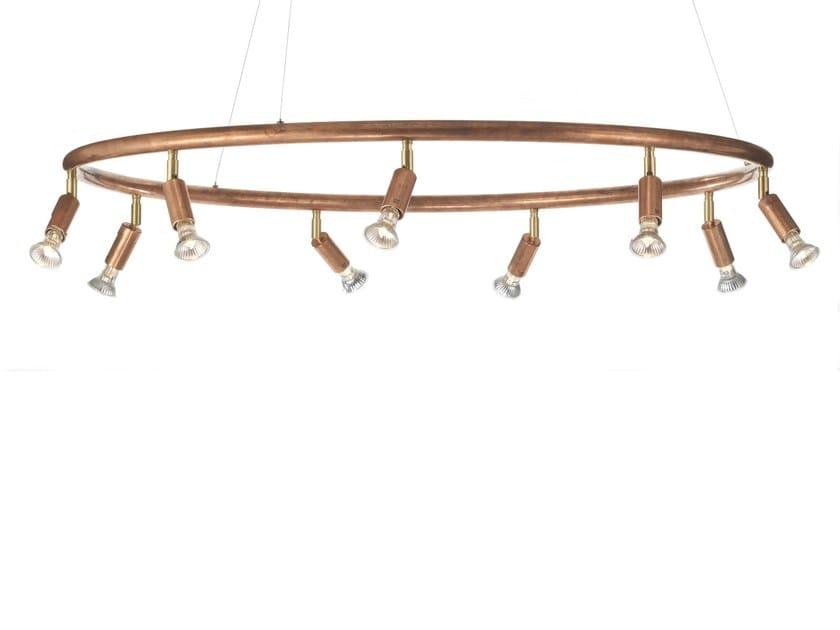 Lampada In Rame Design : Acquista tom dixon lustre lampada a sospensione illuminazione