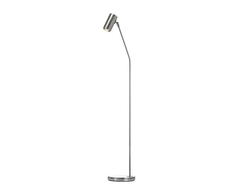 Chrome plated floor lamp MINIPOINT | Floor lamp by Örsjö Belysning
