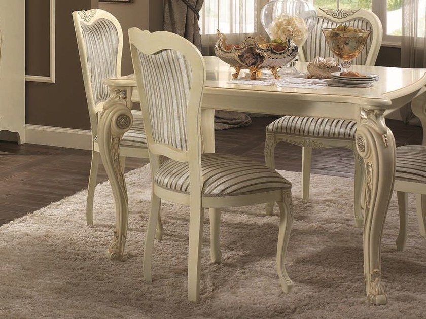 Classic style high-back upholstered chair TIZIANO | Chair by Arredoclassic