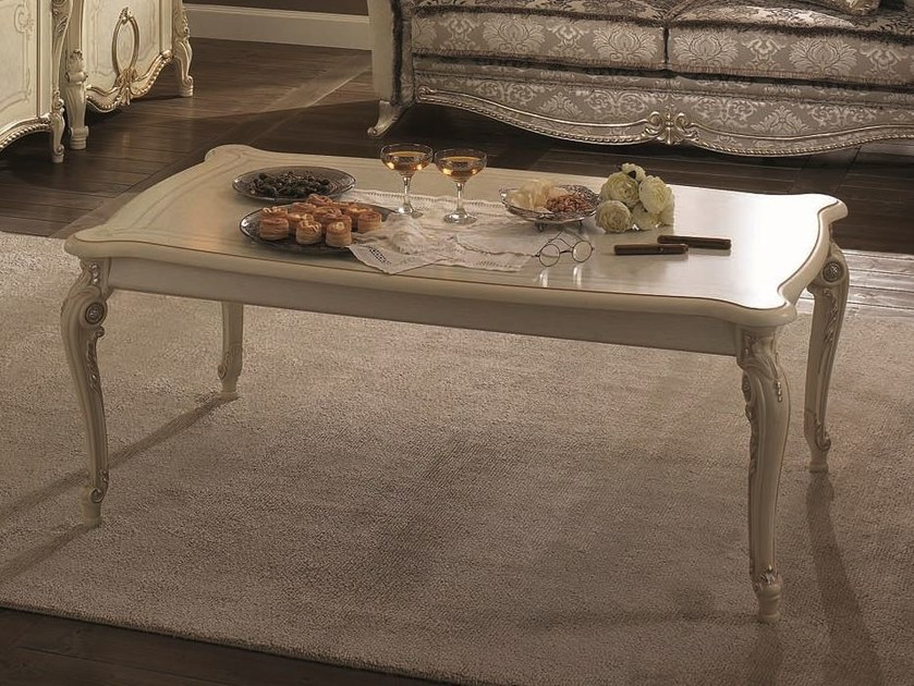 Classic style low coffee table TIZIANO | Coffee table by Arredoclassic