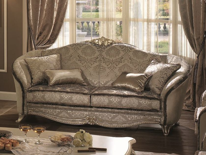 Classic style 3 seater sofa TIZIANO   3 seater sofa by Arredoclassic
