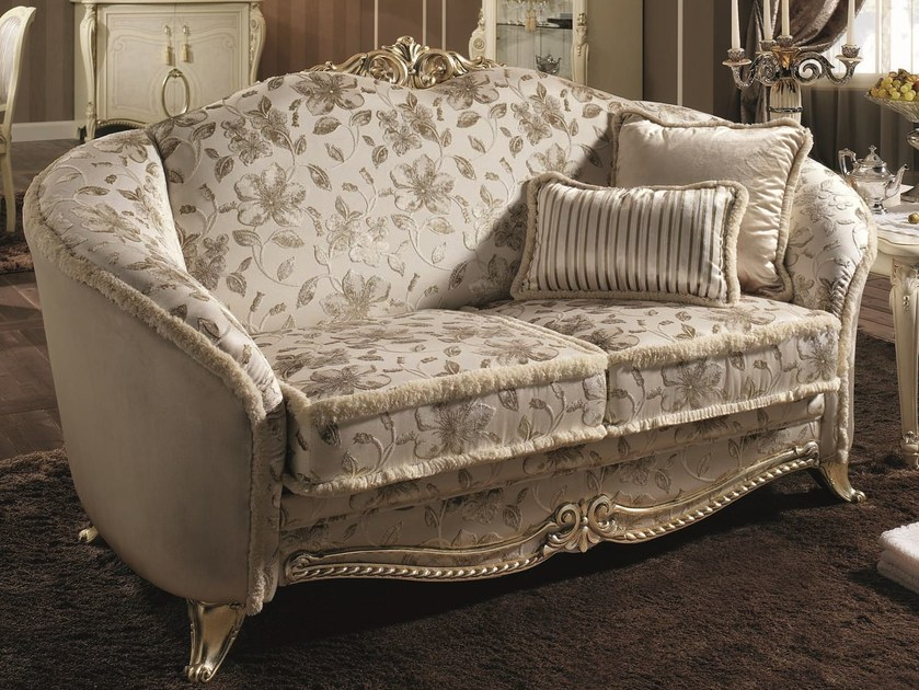 Classic style 2 seater sofa TIZIANO | 2 seater sofa by Arredoclassic