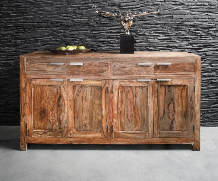 Wooden sideboard AUTHENTICO | Wooden sideboard by KARE-DESIGN